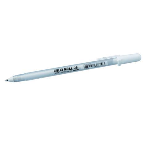 Gelly Roll Weiß 08