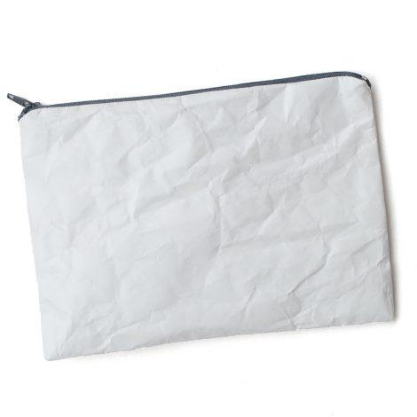 Tyvek® Täschchen mit Reißverschluss – Anthrazit