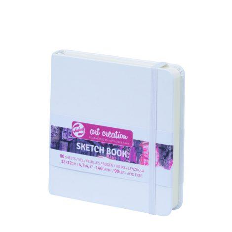 Skizzenbücher – Weiß 12×12 cm