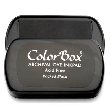 ColorBox Stempelkissen groß – Schwarz