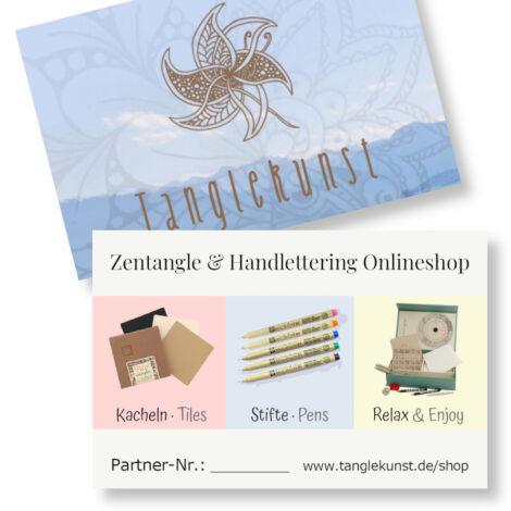 Partner / Affiliate Visitenkarten