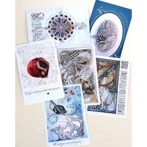 Postkarten- 6er Pack