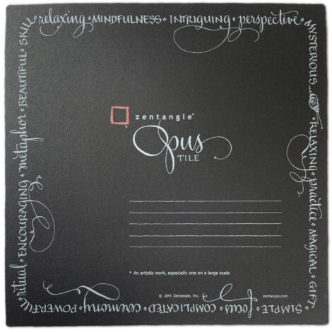 Opus Kacheln Schwarz – 5 – Limited Edition